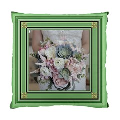 Green Square Standard Cushion Case (two Sided) By Deborah   Standard Cushion Case (two Sides)   Tkogqgfdq80c   Www Artscow Com Back
