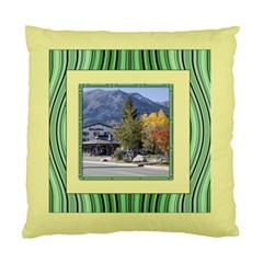 Lemon And Green Standard Cushion Case (two Sided) By Deborah Back