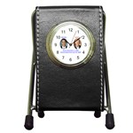 obama biden 2008 Pen Holder Desk Clock