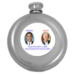 obama biden 2008 Hip Flask (5 oz)