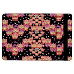Fantasy Flower Ribbon And Happy Florals Festive Ipad Air Flip by pepitasart