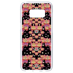 Fantasy Flower Ribbon And Happy Florals Festive Samsung Galaxy S8 White Seamless Case