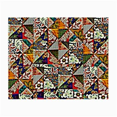 Patchwork Pattern Small Glasses Cloth (2 Side)