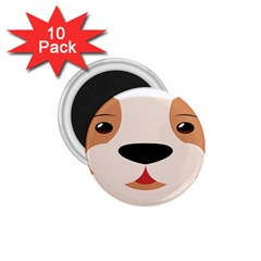 Dog Animal Boxer Family House Pet 1 75  Magnets (10 Pack)