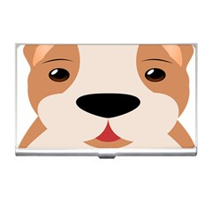 Dog Animal Boxer Family House Pet Business Card Holders