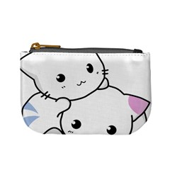 Kitty Cuddling Cat Kitten Feline Mini Coin Purses