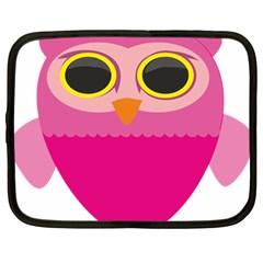 Sowa Owls Bird Wild Birds Pen Netbook Case (large)