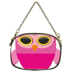 Sowa Owls Bird Wild Birds Pen Chain Purses (one Side)