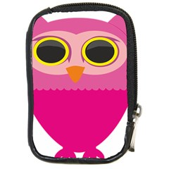 Sowa Owls Bird Wild Birds Pen Compact Camera Cases