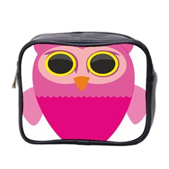 Sowa Owls Bird Wild Birds Pen Mini Toiletries Bag 2 Side