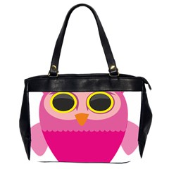 Sowa Owls Bird Wild Birds Pen Office Handbags (2 Sides)