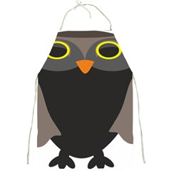Sowa Owls Bird Wild Birds Pen Full Print Aprons