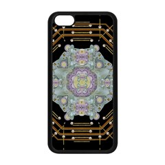 Butterflies And Flowers A In Romantic Universe Apple Iphone 5c Seamless Case (black) by pepitasart