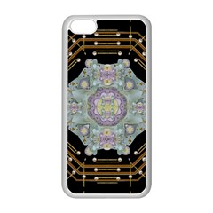 Butterflies And Flowers A In Romantic Universe Apple Iphone 5c Seamless Case (white) by pepitasart