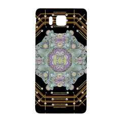 Butterflies And Flowers A In Romantic Universe Samsung Galaxy Alpha Hardshell Back Case by pepitasart