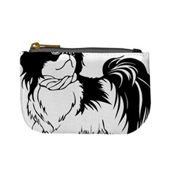 Animal Canine Dog Japanese Chin Mini Coin Purses by Sapixe