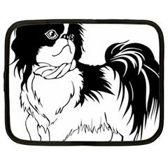 Animal Canine Dog Japanese Chin Netbook Case (xl)