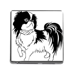 Animal Canine Dog Japanese Chin Memory Card Reader (square)