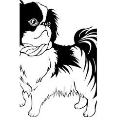 Animal Canine Dog Japanese Chin 5 5  X 8 5  Notebooks