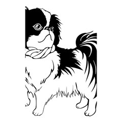 Animal Canine Dog Japanese Chin Shower Curtain 48  X 72  (small)