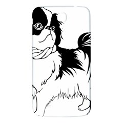 Animal Canine Dog Japanese Chin Samsung Galaxy Mega I9200 Hardshell Back Case