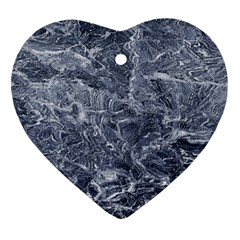Granite 0275 Heart Ornament (two Sides)