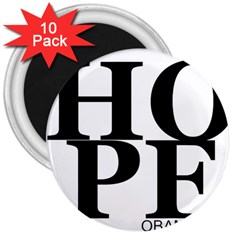 hope_obema 3  Magnet (10 pack) by XmasGif