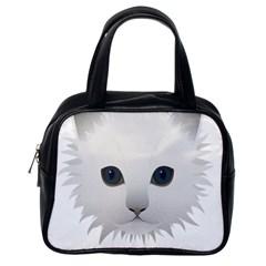 Cat Animal Pet Kitty Cats Kitten Classic Handbags (one Side)
