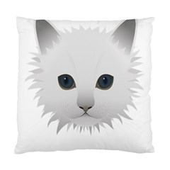 Cat Animal Pet Kitty Cats Kitten Standard Cushion Case (two Sides)