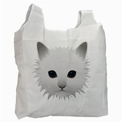 Cat Animal Pet Kitty Cats Kitten Recycle Bag (one Side)