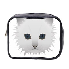 Cat Animal Pet Kitty Cats Kitten Mini Toiletries Bag 2 Side