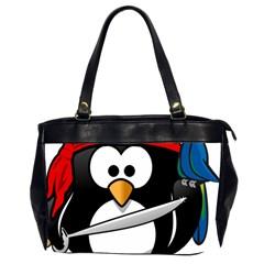 Penguin Pirate Tux Animal Bandana Office Handbags (2 Sides)
