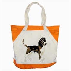 Black White Dog Beagle Pet Animal Accent Tote Bag