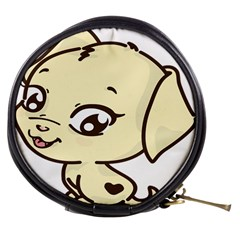 Doggy Dog Puppy Animal Pet Figure Mini Makeup Bags by Sapixe
