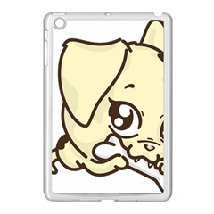 Doggy Dog Puppy Animal Pet Figure Apple Ipad Mini Case (white) by Sapixe