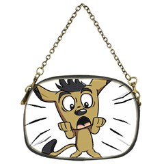Animal Canine Cartoon Dog Pet Chain Purses (one Side)
