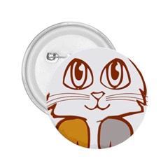 Animal Cat Feline Kitten Pet 2 25  Buttons