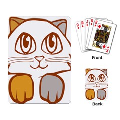 Animal Cat Feline Kitten Pet Playing Card