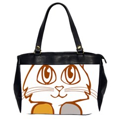 Animal Cat Feline Kitten Pet Office Handbags (2 Sides)  by Sapixe