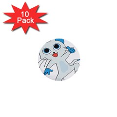 Animal Anthropomorphic 1  Mini Buttons (10 Pack)