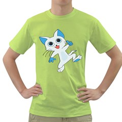 Animal Anthropomorphic Green T Shirt