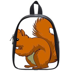 Squirrel Animal Pet School Bag (small) by Sapixe
