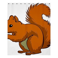 Squirrel Animal Pet Shower Curtain 60  X 72  (medium)