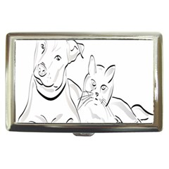 Dog Cat Pet Silhouette Animal Cigarette Money Cases