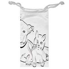 Dog Cat Pet Silhouette Animal Jewelry Bags