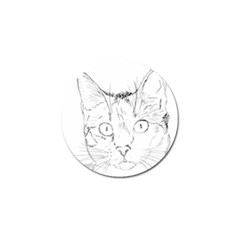 Cat Feline Animal Pet Golf Ball Marker (4 Pack)