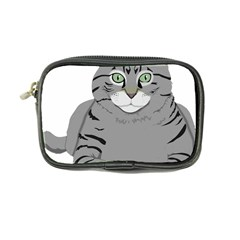 Cat Kitty Gray Tiger Tabby Pet Coin Purse