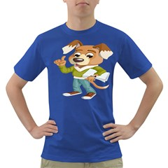 Dog Pet Dressed Point Papers Dark T Shirt