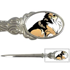 Dog Sitting Pet Collie Animal Letter Openers