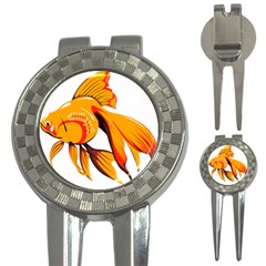 Goldfish Fish Tank Water Tropical 3 In 1 Golf Divots
